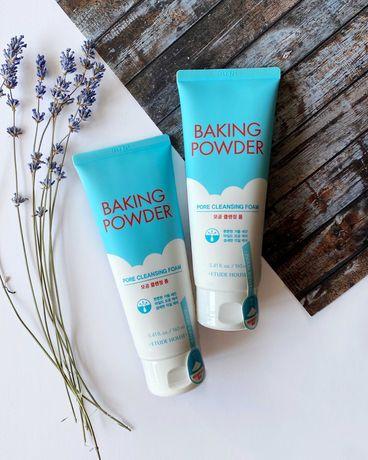 Baking Powder від Etude House 3в1: пінка для вмивання, скраб, демакіяж
