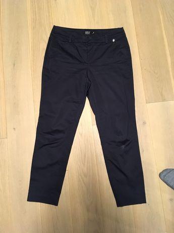 Granatowe spodnie eleganckie Simple