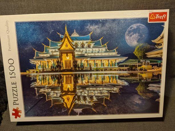 """Puzzle """" Wat Pa Phu Kon, Tajlandia"""" - 1500 el. - Trefl"""