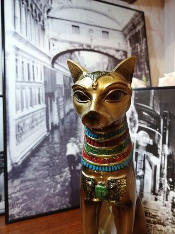 Большая кошка, египетская кошка, кошка, сфинкс, 30см, статуэтка