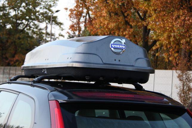 Bagażnik Box Dachowy do Volvo Grafit dwustronny 490litrów