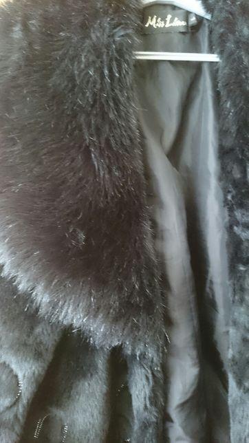Sprzedam kurtkę-futerko + kozaki
