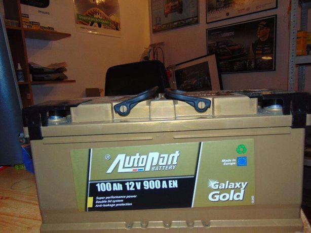 Akumulator Autopart Galaxy Gold 100Ah 900A P+ wymiana Kraków Azory