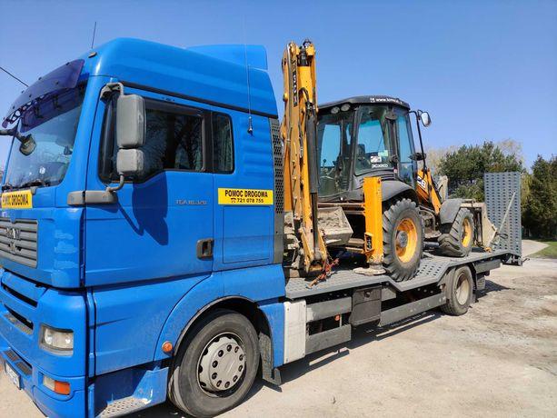 Pomoc Drogowa Transport Maszyn!! Najlepsze ceny!!