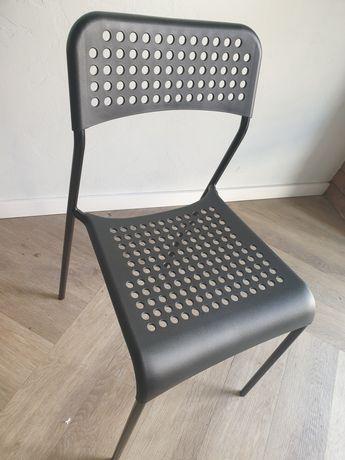 Krzesło ikea czarne
