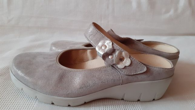 Semler шкіряні туфлі шльопанці сабо кроссовки. 38 р. Повн Н
