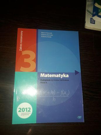 Matematyka podręcznik klasa 3