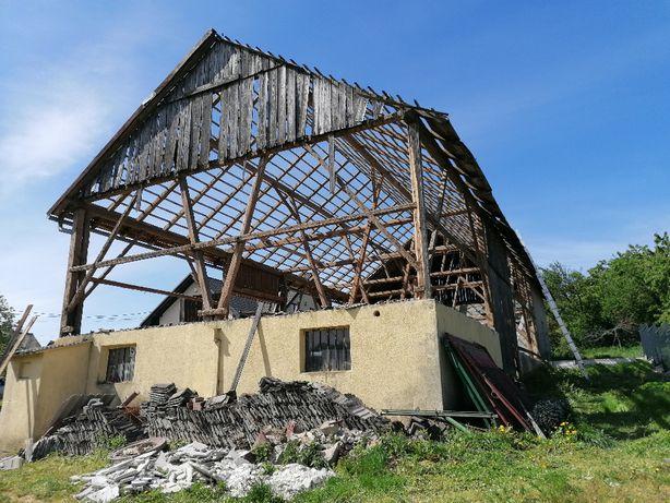 Skup starego drewna rozbiórka stodoły stare deski stare drewno stodoła