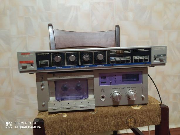 Продам магнитофон орель и усилитель вега СССР