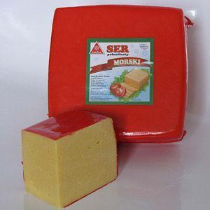 SER MORSKI. Żółty ser typu holenderskiego około 500g lub około 1000g!