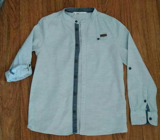 Рубашка и шведка 2в1 на рост 128-134 см