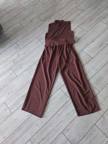 Zara komplet spodnie I bluzka
