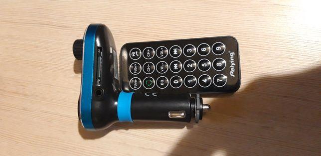 Transmiter fm do samochodu Bluetooth