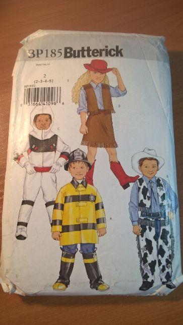 Выкройки детских карнавальных костюмов. Butterick