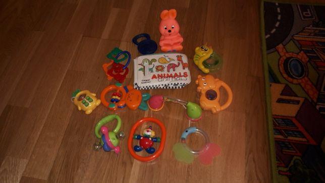 Zabawki grzechotki, gryzaki