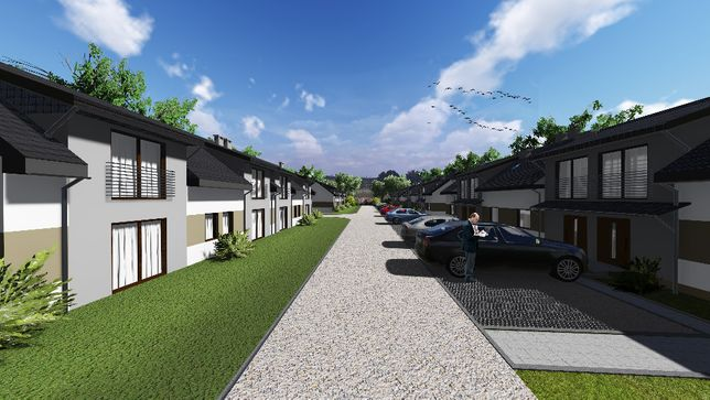 Mieszkanie z ogródkiem trzypokoje,Niepołomice Suszówka