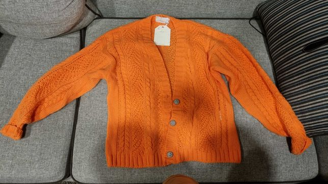 Nowy sweter Laurella koralowy Malisa coral