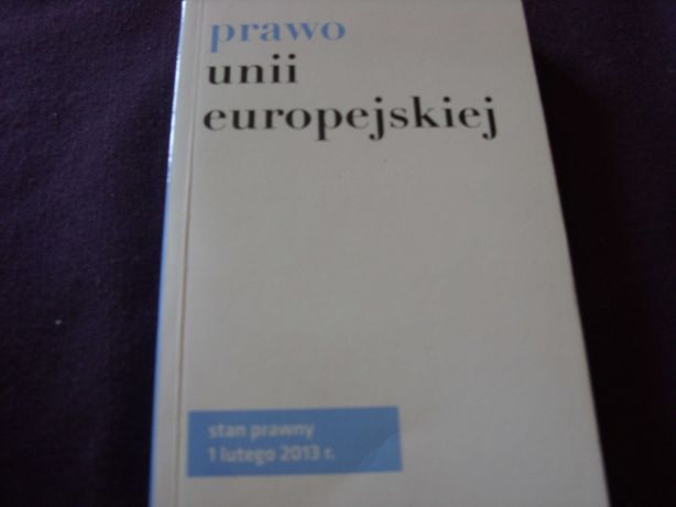 Prawo Unii Europjskiej