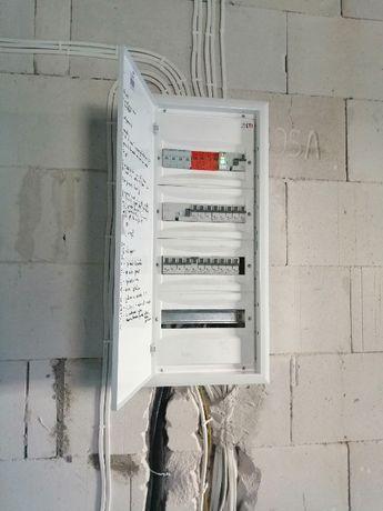 Elektryk,Instalacje elektryczne antenowe i internetowe