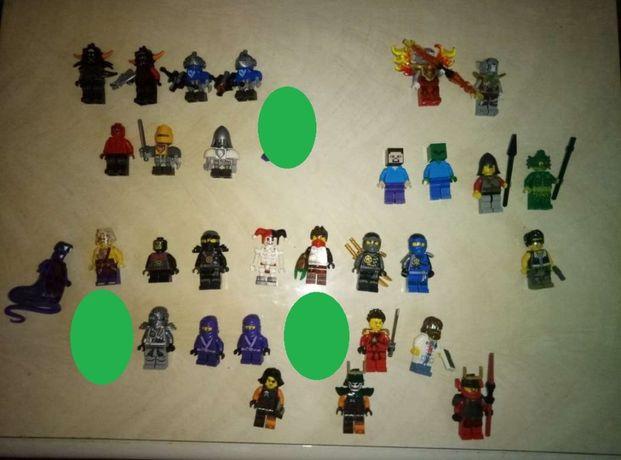Продам lego лего minifigures фигурки ninjago nexo knights city