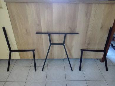 Nogi metalowe do mebli ogrodowych ławek krzeseł meble ogrodowe stół