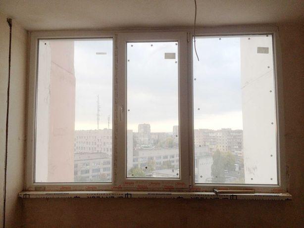 Пластиковое окно 2300х1450 мм