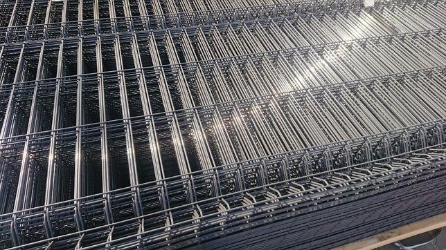 Panele ogrodzeniowe 1530x2500 grafitowe Ogrodzenie panelowe h153 fi4