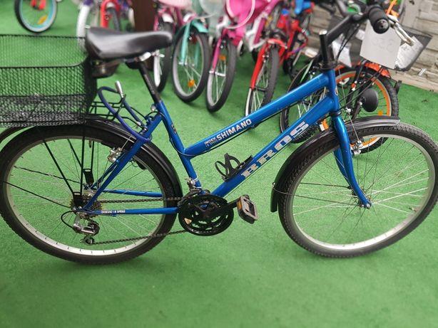 Całkiem sprawny rower na kole 26. Damka. Po przeglądzie.