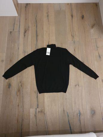 Męski sweter z golfem marki Zara