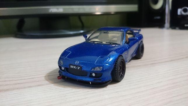 Машинка Mazda RX7 1:34 JDM тюнинг