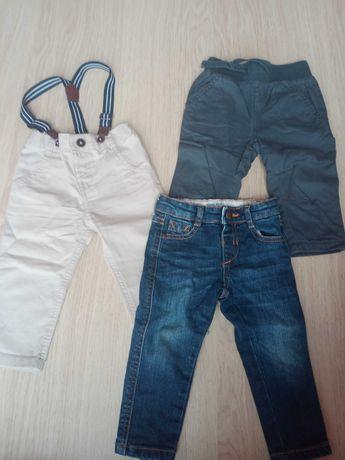Spodnie dla chlopca 74