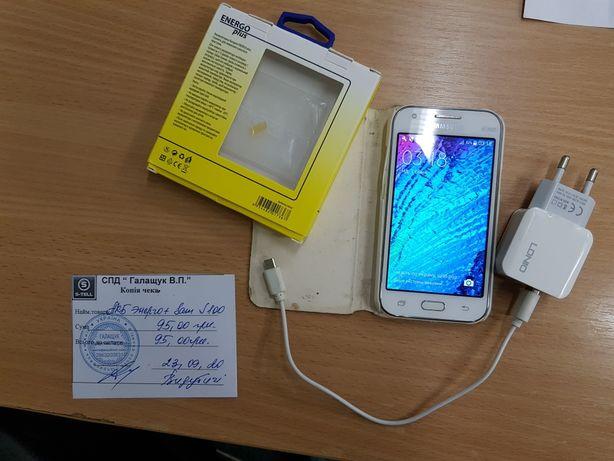 Новий акумулятор, ідеал стан. Samsung Galaxy J1 Duos