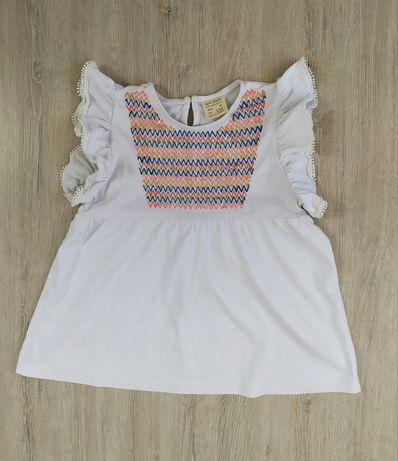 Хлопковая блуза Zara 116см