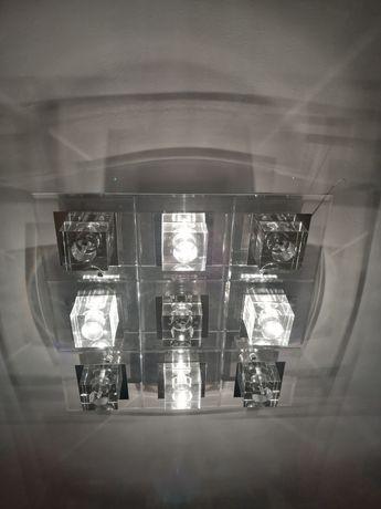 Lampa sufitowa na pilota