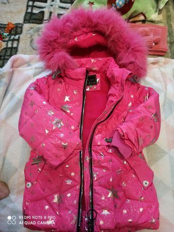 Курточка зимняя, очень тёплая