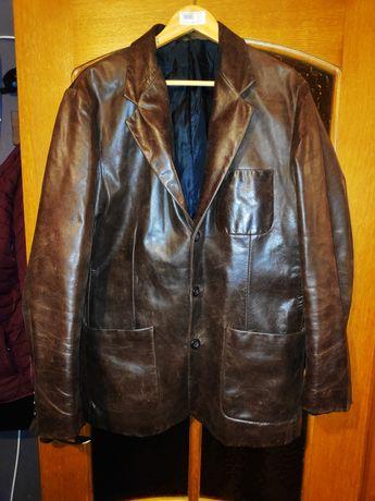 Продам кожанный пиджак