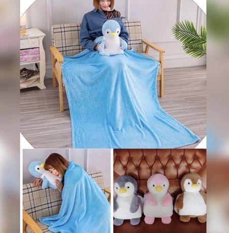 Плед игрушка, игрушка одеяло