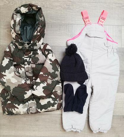 Kurtka + spodnie zimowe ZARA