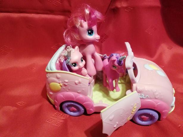 Koniki My Little Pony, Jednorożec i samochód