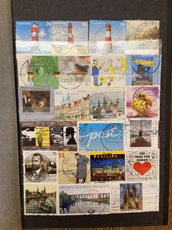 Много марок разных коллекционных