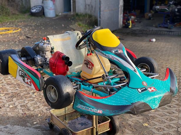 GoKart Formula K FK01 125ccm sprzegło IAME magnez felgi SPALINOWY kart