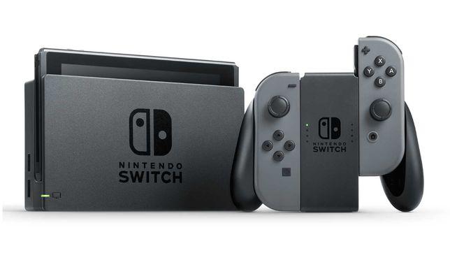 Konsola Nintendo Switch STAN IDEALNY KARTA 64 GB+ ETUI FOLIA Komplet