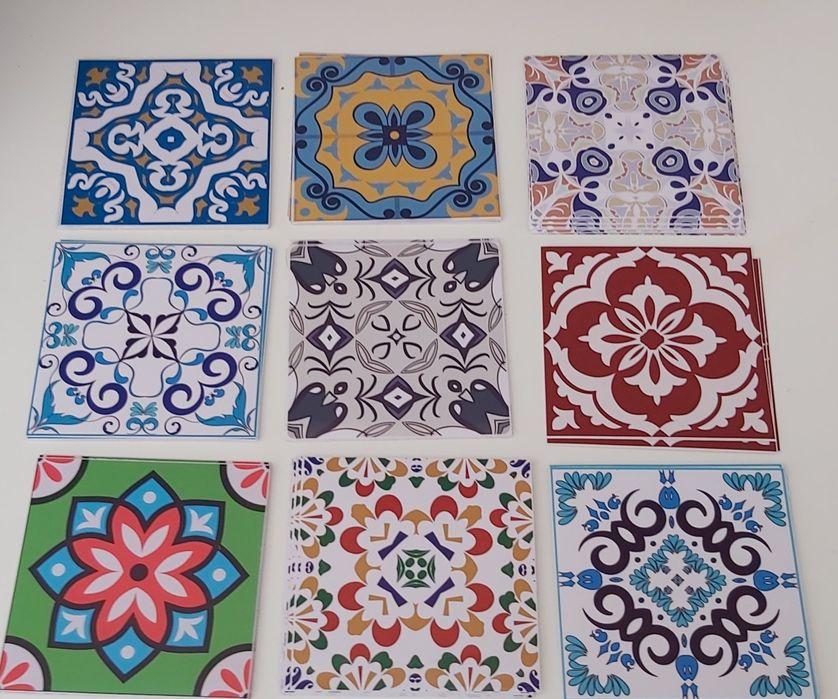 Autocolantes decorativos 10×10cm Alto Do Seixalinho, Santo André E Verderena - imagem 1