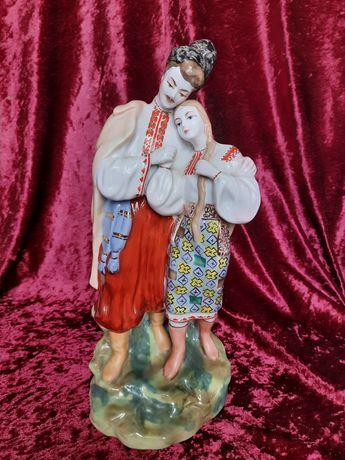Фарфоровая статуэтка СССР Майская ночь (Киевский ЭКХЗ) Редкая Винтаж
