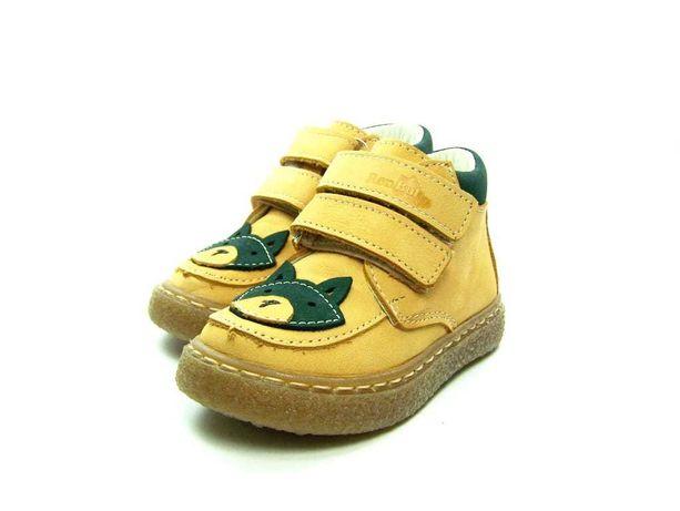 Renbut buty dziecięce ze skóry naturalnej miodowe rozmiar 22