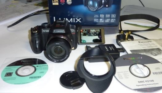 Panasonic Lumix FZ-100 / Objectiva Leica
