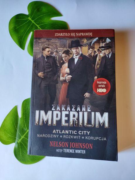 "Książka Nelson Johnson ""Zakazane imperium"" wstęp Terence Winter"