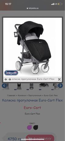 Коляска прогулочная Euro-Cart Flex
