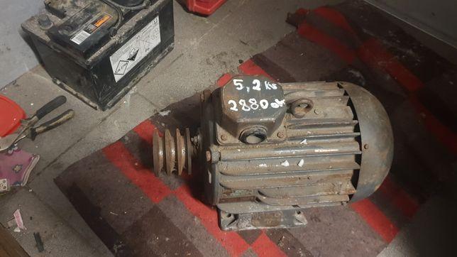Silnik elektryczny 5,2 kw 2880 obr