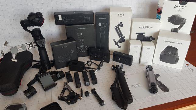 Kamera DJI Osmo Plus 4k 3,5 zoom Mega zestaw akcesoriów